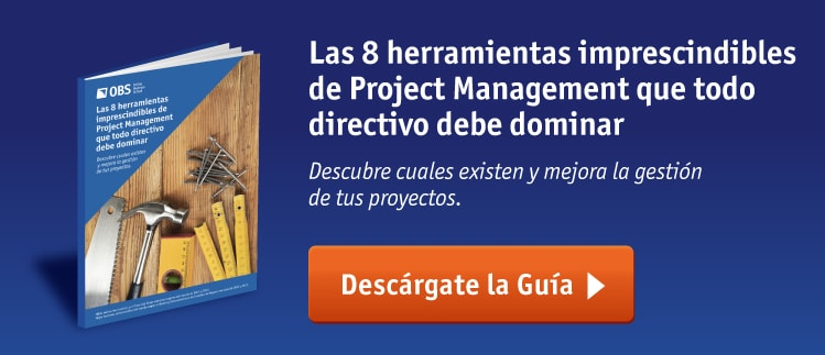 Ebook OBS Business School - 8 herramientas imprescindibles de Project Management que todo directivo debe dominar