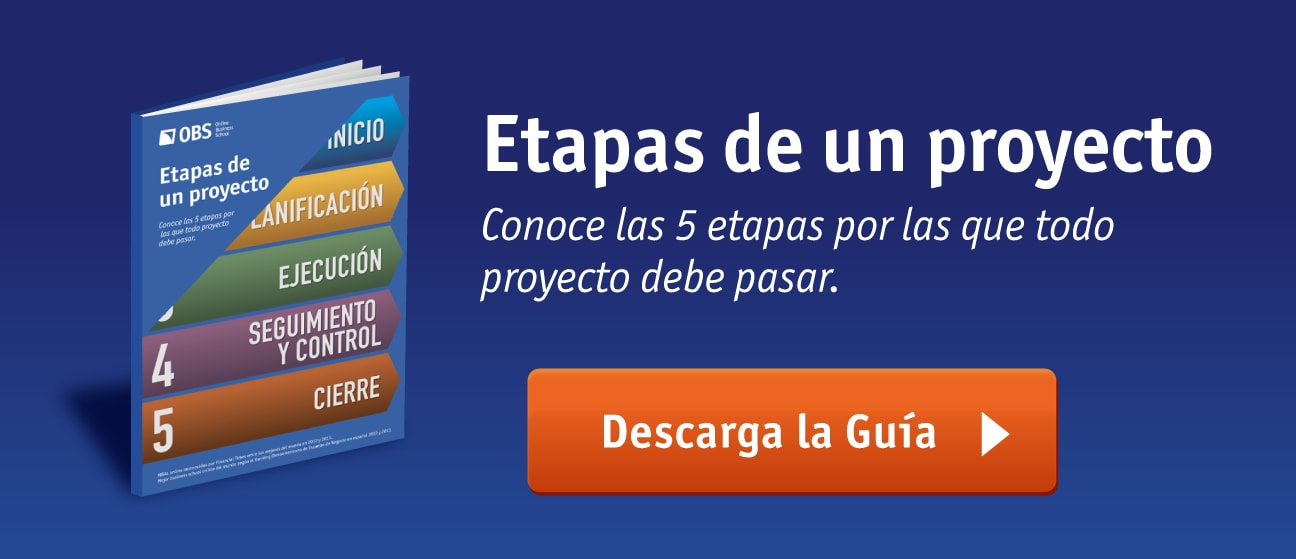 Ebook OBS Business School - Etapas de un proyecto